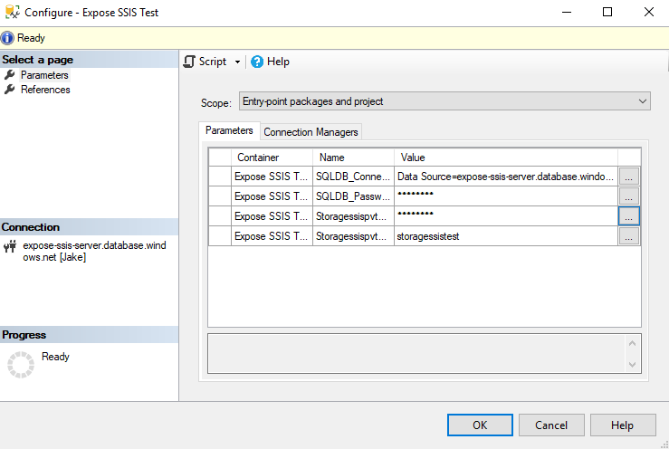 SSIS Package Configuration